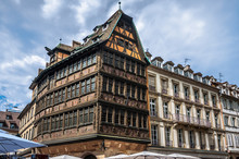 Maison Kammerzell Is A Historical Building On Place Du March In Strasbourg. France