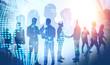 International business and teamwork concept