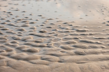 Wet Sand Beach Texture For Bac...