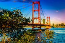 Background Bridge Of The City ...