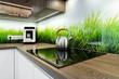 Modern interior design - kitchen