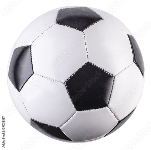 Obraz Soccer ball isolated on white background - fototapety do salonu
