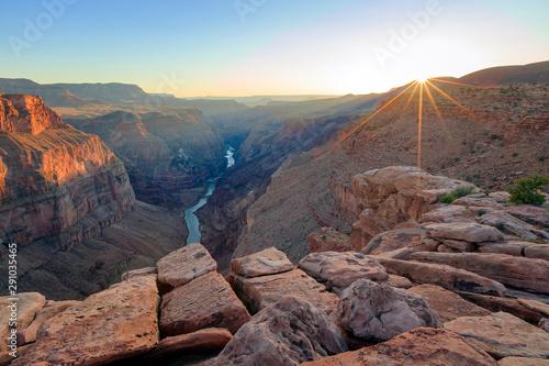 Fotografie, Obraz  Sunset at the Grand Canyon, Arizona, USA.