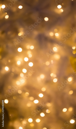 Christmas background. Festive xmas abstract background with boke Wall mural