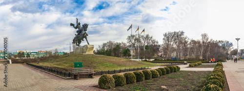Foto op Canvas Historisch mon. Monument to Suvorov in Tiraspol, Moldova