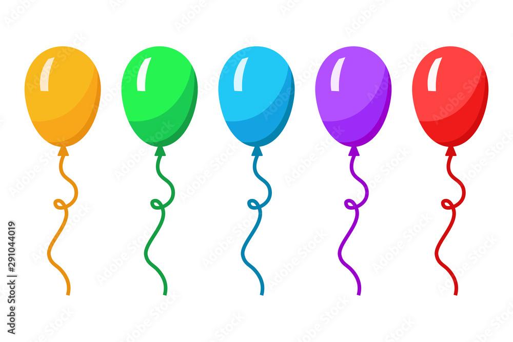 Fototapeta Balloon colors