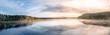 Talsperre Rauschenbach Landschaft Panorama