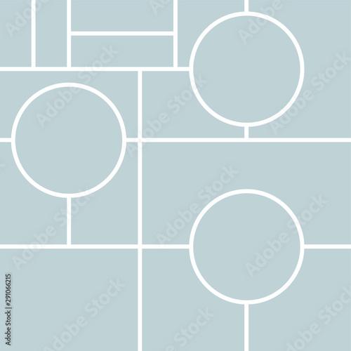 Fotografia, Obraz Vector Mood Board & Branding Presentation