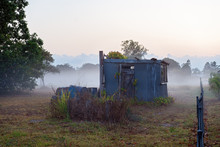 An Old Dilapidated Country Hut...