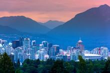 Vancouver City Skyline, Britis...