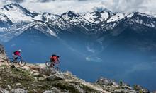 Beautiful Landscape In Whistler BC, British Columbia, Canada.