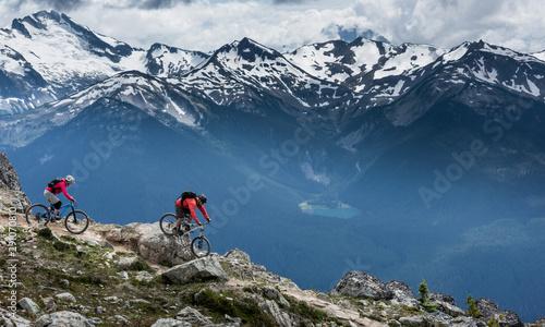 Beautiful landscape in Whistler BC, British Columbia, Canada. Wallpaper Mural