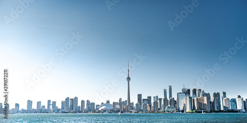 Foto auf AluDibond Shanghai Toronto city skyline, Ontario, Canada
