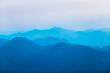 canvas print picture - montanhas da serra