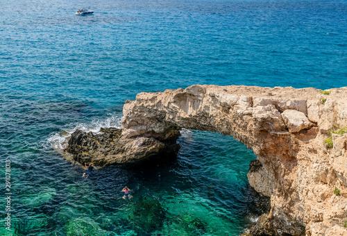 Autocollant pour porte Chypre Bridge of love Cyprus