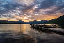 Lake McDonald At Sunrise