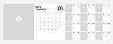 Modern Calendar For 2020 Templ...