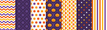 Halloween Pattern. Seamless Ha...