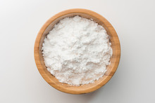 Top View Tapioca Starch Powder...