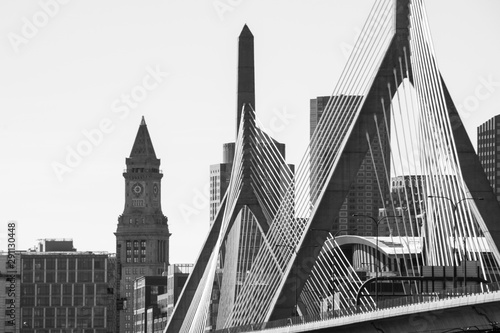 Leonard P. Zakim Bridge Canvas Print