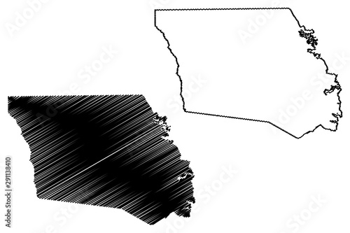 Shelby County, Texas (Counties in Texas, United States of America,USA, U Canvas Print