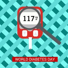 World Diabetes Day Awareness.