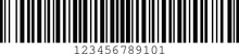Code 128B Barcode Standard