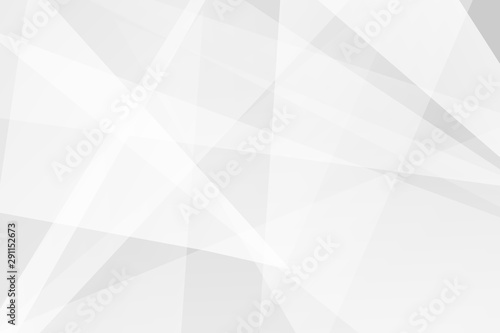 Fototapeta Abstract white and grey on light silver background modern design. Vector illustration EPS 10. obraz na płótnie
