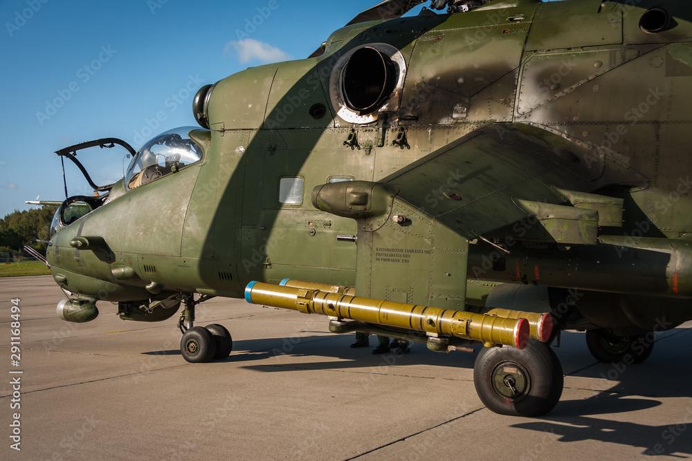 Fototapeta Helikopter wojskowy