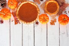 Homemade Autumn Pumpkin Pie To...