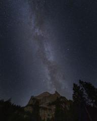 Milkyway in the swiss alps