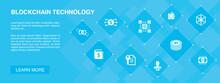 Blockchain Technology Banner 1...