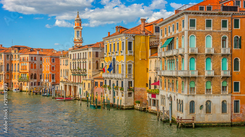 Obraz Architecture of Venice, Canal Grande, Italy, Europe - fototapety do salonu