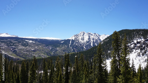 Snowy Mountain Valley