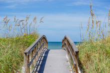 Bridge To Beach On Sanibel Isl...