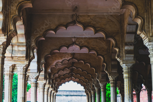 Autocollant pour porte Delhi Arches Of Shah Jahan
