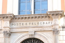 Central Post Office Rome Italy