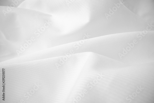 Shiny flowing cloth texture in macro shot Wallpaper Mural