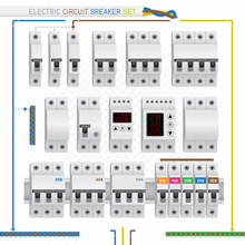 Electric Circuit Breaker Set
