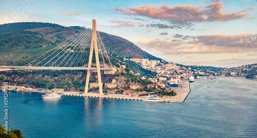 Платно  Great cityscape of Dubrovnik town