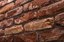 Old Brick Wall Closeup Photo