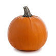 canvas print picture Pumpkin isolated on white