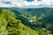 A View Of The Gorges Du Tarn, ...