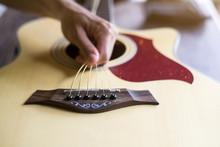 Change The Acoustic Guitar Str...