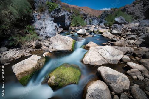 Adrano ponte dei saraceni - simeto river Billede på lærred
