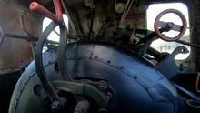 4K Descending Inside Old Steam...