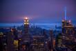 Newyork city at night, New York, United Staes of America