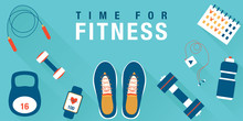 Fitness Concept Workout With E...