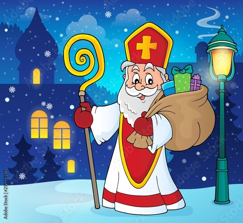 Photo sur Toile Enfants Saint Nicholas topic image 5
