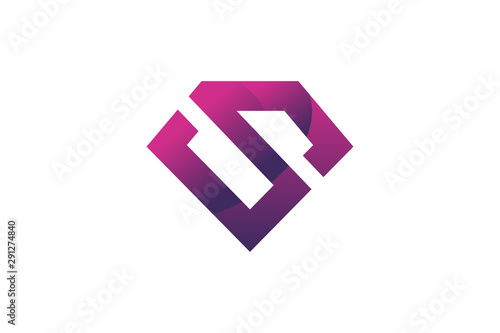 Fotografie, Tablou  super hero emblem logo icon vector